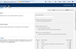 SharePoint - stavebné prvky/objekty 4