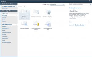 SharePoint - stavebné prvky/objekty 10